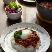大豆ミートと根菜のキーマカレー