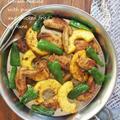 ガラムマサラのパイナップルチキン揚げ焼き