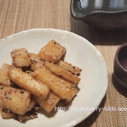 おうち居酒屋|長芋の甘辛炒め