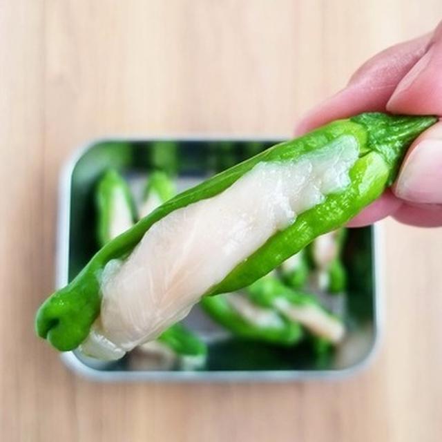 ししとうにイン♪【レシピ】ししとう&ササミの塩炒め