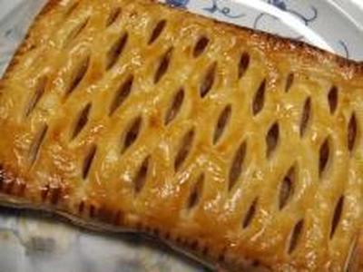 美味しいリンゴのアップルパイ