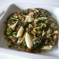 【絶品】挽き肉と野菜の餡かけ焼きそば♪