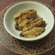 手羽中のハーブ赤味噌煮