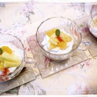2行レシピ(*^^*)5分未満でおもてなしスイーツ(*^^*)