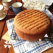 基本のスポンジケーキ〜別立て不要〜詳しい写真工程。