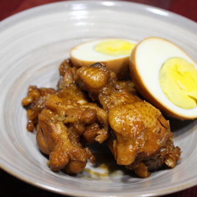 365日レシピNo.294「手羽元と卵のさっぱり煮」