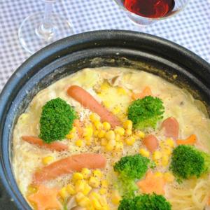 寒い日は野菜たっぷりの「味噌バター鍋」であったまろう♪