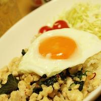 ヤマキ「割烹白だし」で作る和風ガパオライス
