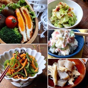 お弁当向きな簡単副菜レシピ10選♡【#簡単レシピ#副菜】