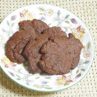 ◇材料2つ☆ヒナミオ特製焼きチョコ風クッキー