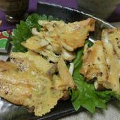 クミン香るエリンギのチーズせんべい