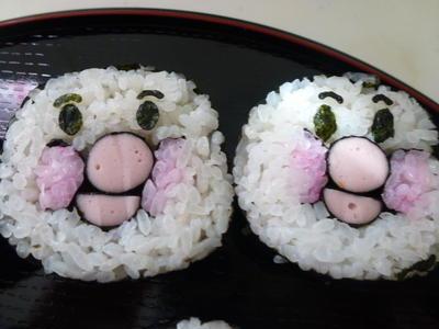 飾り巻き寿司 子供さんに人気のキャラクター By 宝 巻子さん