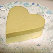 紅茶とチーズのムースケーキ