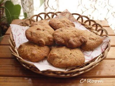 コーヒーウォールナッツクッキー