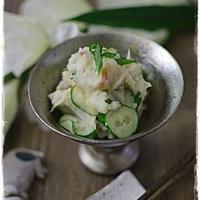 【ワンダーシェフ圧力鍋オース】里芋の和風梅サラダ