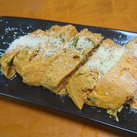 牛乳パック de 卵豆腐!野菜ジュースの卵豆腐・カレー味