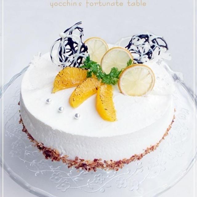 *はちみつレモンヨーグルトムースケーキと長男の誕生日*