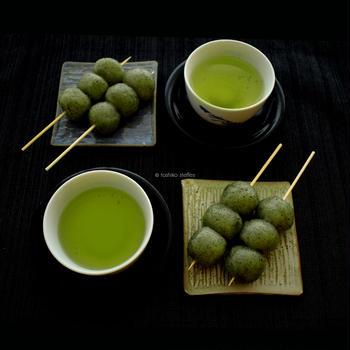 茶だんご手作りキット、子供の日・母の日ギフトに、アメリカ各地でオンライン練り切りクラス開催