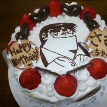 キャラケーキでワクワク、クッキングパパ!!