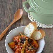 夏野菜と大麦のラタトゥイユ