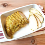 カレー味のサラダチキンの作り方。タンドリーチキンの再現レシピ