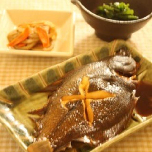 クリスマス会&日本のごはん~かれいの煮つけとほうれんそうのおひたし~