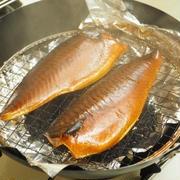 メシ通!塩鯖のお茶っ葉燻製