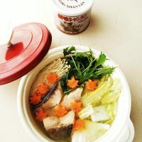 秋鮭の味噌バター鍋