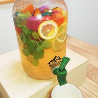 パーティーにどうぞ!飲むハーバリウム・オサレなミント塩レモン水