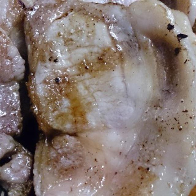 野郎飯流・塩豚ソテー3種類