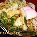 筍と山菜の天ぷらうどん