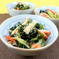 きゅうりと2食材で和え物レシピ!夏バテ予防&ダイエットにもおすすめ! by 銀木さん