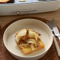 りんごたっぷりの秋が来た〜!なフレンチトースト