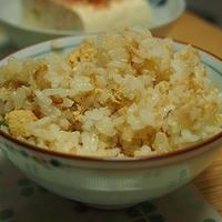 ■レシピ■タラコとエノキの炊き込みご飯