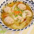 【電気圧力鍋レシピ】白菜と肉団子の和風スープ