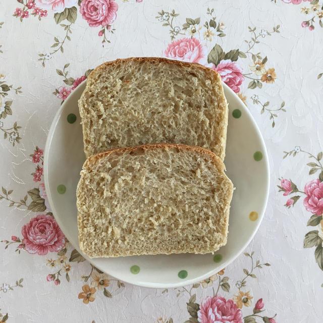 ピーチティー食パン