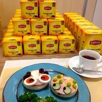 ぱおさん登場!紅茶とひらめき朝食を体験しよう!