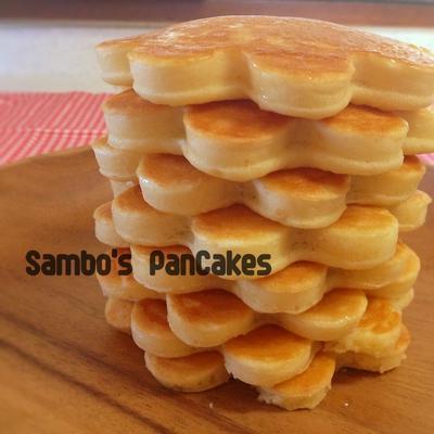 サンボのメイプルバター•パンケーキ