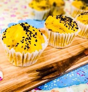 【バターなし】お豆腐かぼちゃマフィン【カロリーオフ】*改良ver