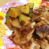 豚肉とカボチャのスパイス焼き