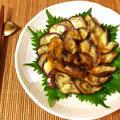 相性べらぼう。茄子お刺身の絶品オリーブ生姜醤油(糖質4.6g) by ねこやましゅんさん