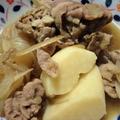 <牛肉と里芋の煮物 しゃぶしゃぶのリメイクレシピ>