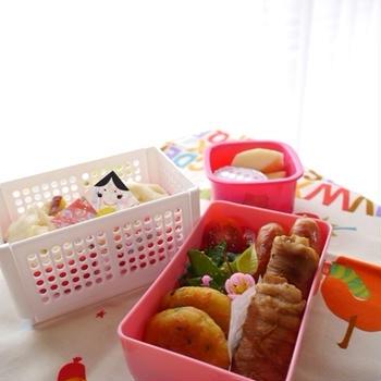 幼稚園のお弁当(年長さん2月)~小学生のホワイトデー