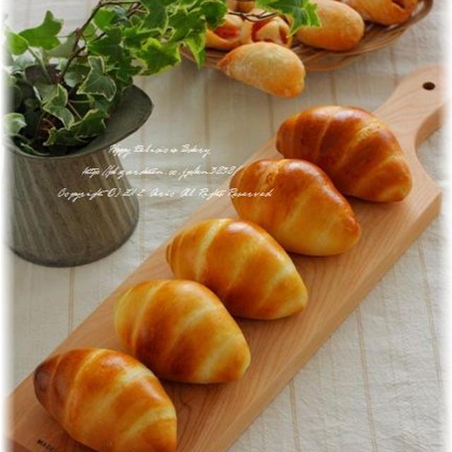 つやぴかロールと白パン♪