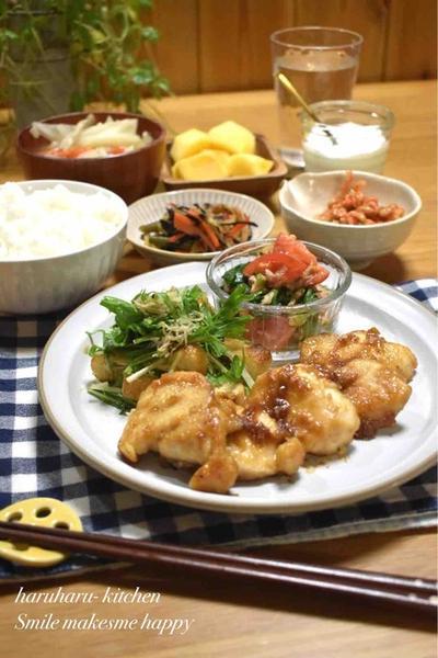 【レシピ】むね肉de味噌マヨチキン#驚きの柔らかさ#節約#お弁当おかず#時短