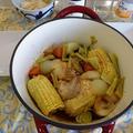 ユニクロの AIRISM レギンス ~  エシャロットの甘酢漬け ~ ダッチオーブンで鶏半身料理
