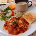 チキンのトマト煮☆おもてなしプレート by シュリンピさん