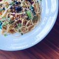 鉄分豊富な小松菜と7種のスプラウトでおうちランチ