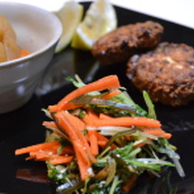 ビタミンと鉄分を一緒に♫水菜のお漬け物☆