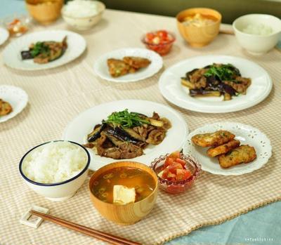 豚肉と茄子の生姜ぽん炒めと、オバちゃんになると・・・